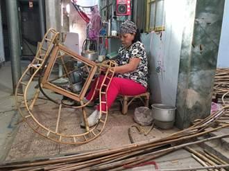 美濃百工百業之師 黃細梅傳承藤椅編織