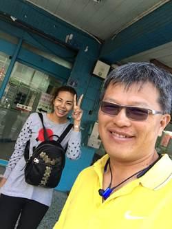 彰化員警好人做到底 泰國背包女感動直呼真好心