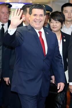 慶祝台巴建交60年 巴拉圭總統率團訪台