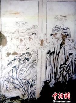 唐高祖曾孫古墓 疑發現唐代最早山水畫