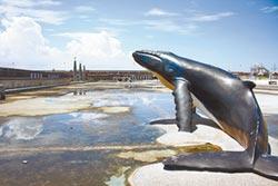 漁人碼頭鯨魚池 頻傳摔傷意外