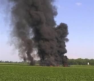 美海軍陸戰隊KC-130運輸機爆炸墜毀 16死