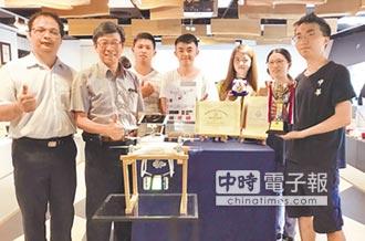 中華大學創意發明 東京創新展發光