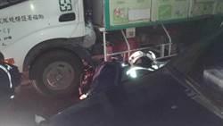 嘉義資源回收車反應不及 7歲男童遭輾斃