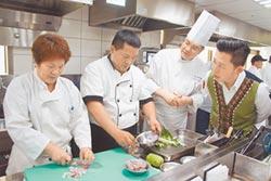 林智堅變身型男 熱炒原民餐