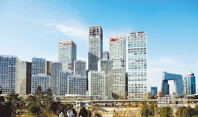 北京CDB地區。(中新社資料照片)