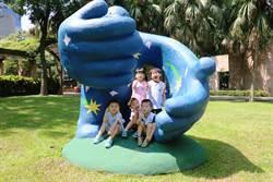 巨大章魚3米Q版恐龍 怪獸佔領新北市府廣場