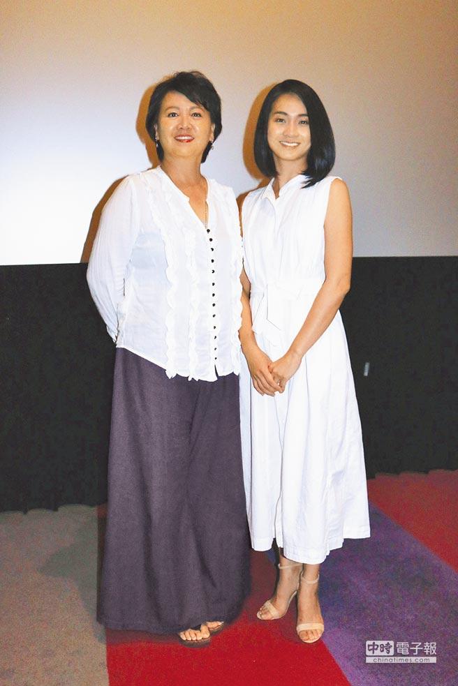 金鐘視后王琄(左)和陳雪甄在《愛別離》飾演一對婆媳。