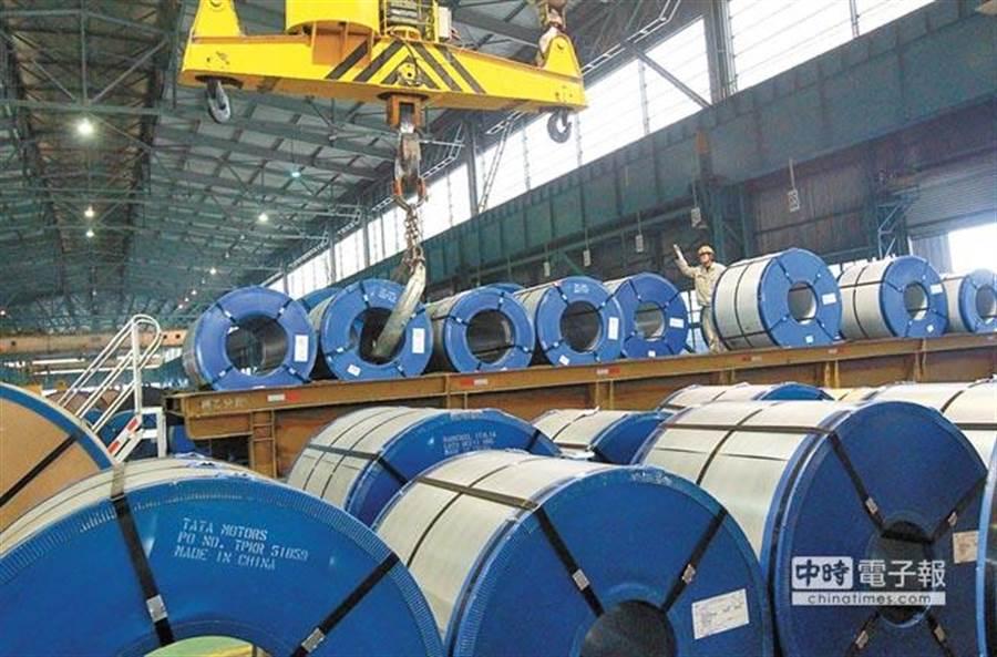 寶鋼集團去年正式和併武鋼集團,終於獲得中國國務院拍板,成為全球粗鋼年產量第二的鋼企集團。(新華社)
