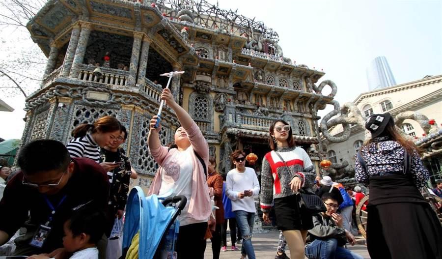 天津著名旅遊景點「瓷房子」登上拍賣網站。(中新社)