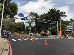改善竹科交通 寶山路調撥車道25日啟用