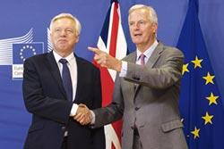 英脫歐談判 首輪先喬分手費