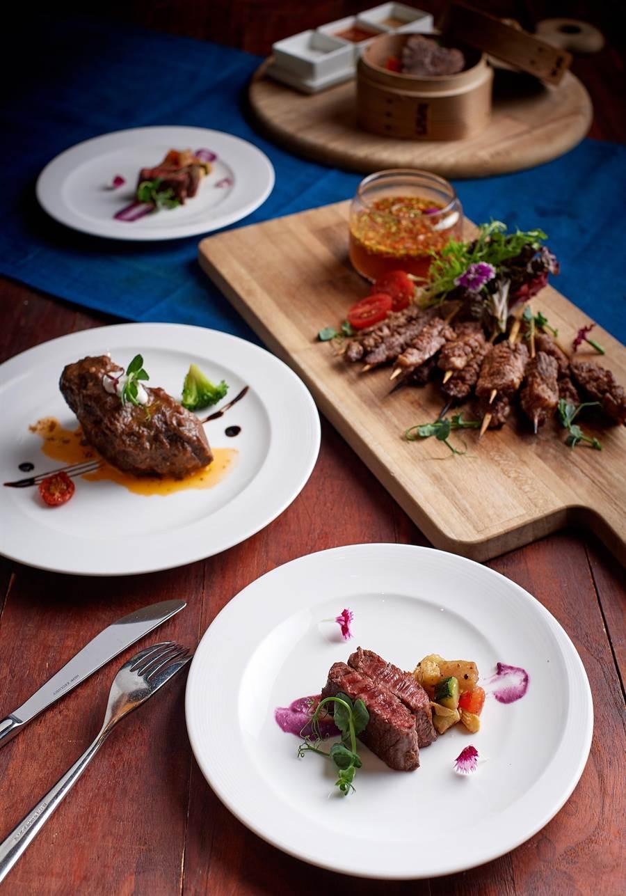台北美福大飯店的彩匯自助餐廳不僅有和牛放題,更推出父親節午餐88元及晚餐588元的震撼價活動。(圖/台北美福大飯店供)