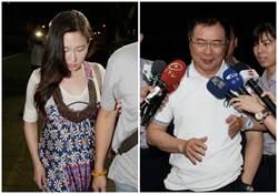 蔡正元收押前還心繫著她和腹中胎兒 馬尾妹痛哭!