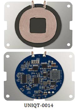 佑驊15W無線充電模組 獲Qi國際認證