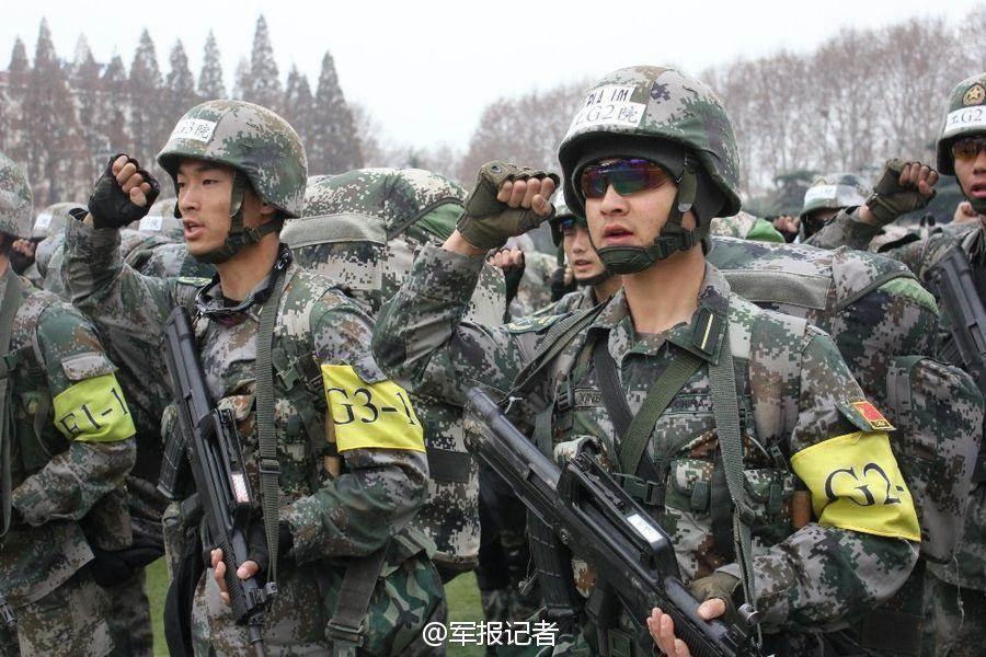 前美聯社台灣分社主任溫逸德預言,中國將在2018年武統台灣。圖為大陸解放軍。(翻攝自《解放軍報》法人微博)
