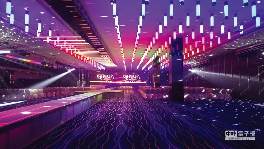 「好運來洲際宴展中心」本月23日起正式營運,目前已接獲逾3,000桌宴席訂單。圖/曾麗芳