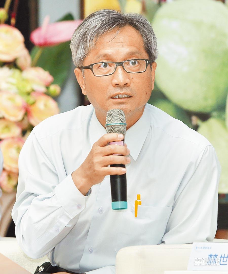 民進黨籍議員林世賢(黃國峰攝)