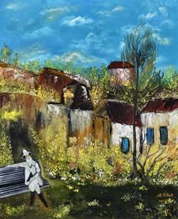 娜一夜 我做了夢.胡娜《法華經》油畫世界巡迴展