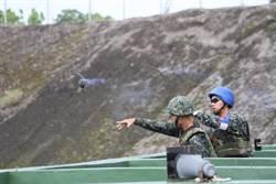 三軍九校訓練日手榴彈實彈投擲  考驗抗壓力