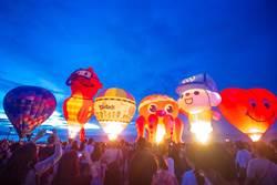 熱氣球嘉年華日出光雕音樂會 太麻里登場
