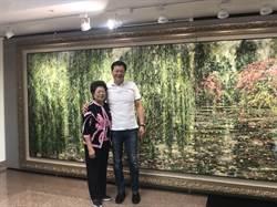 周錫瑋畫展三重開幕 預告「新北29區各辦一場」