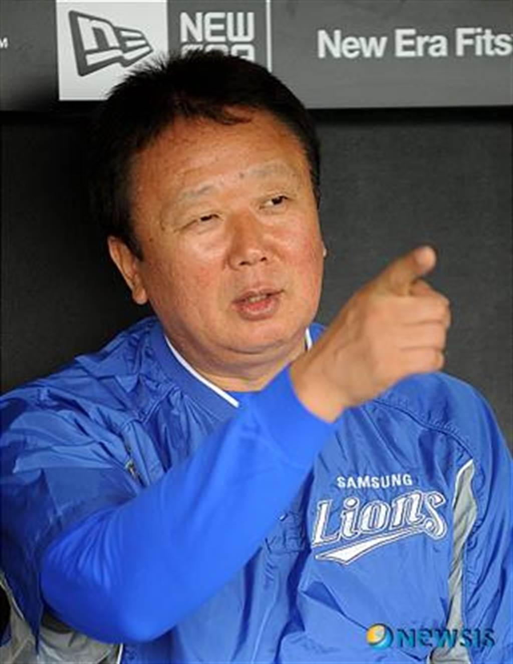 南韓棒球傳奇球星宣銅烈,接掌南韓國家隊兵符。(資料照 擷自三星獅官網)
