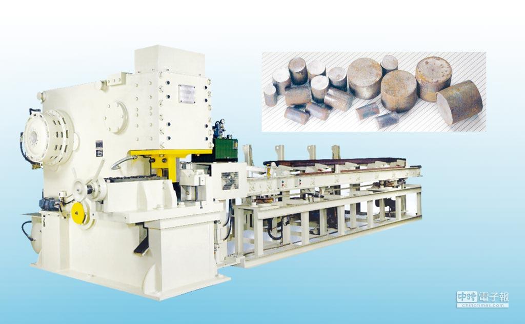 桂全「KCM」大型金屬精密切斷機械可依工件生產需求,進行客製開發設計,且符合德國市場的高品質要求。圖/桂全提供 文/陳仁義