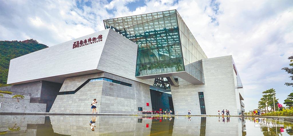 大陸國家南海博物館已接近竣工,最快於8月全面開放,宣示南海主權。(取自網路)