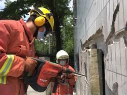 竹市消防添購軍刀鋸、新式生命探測儀 提升救災能量