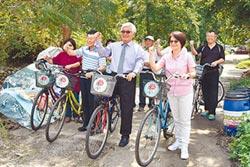 行銷古坑竹筍 單車輕旅行開跑