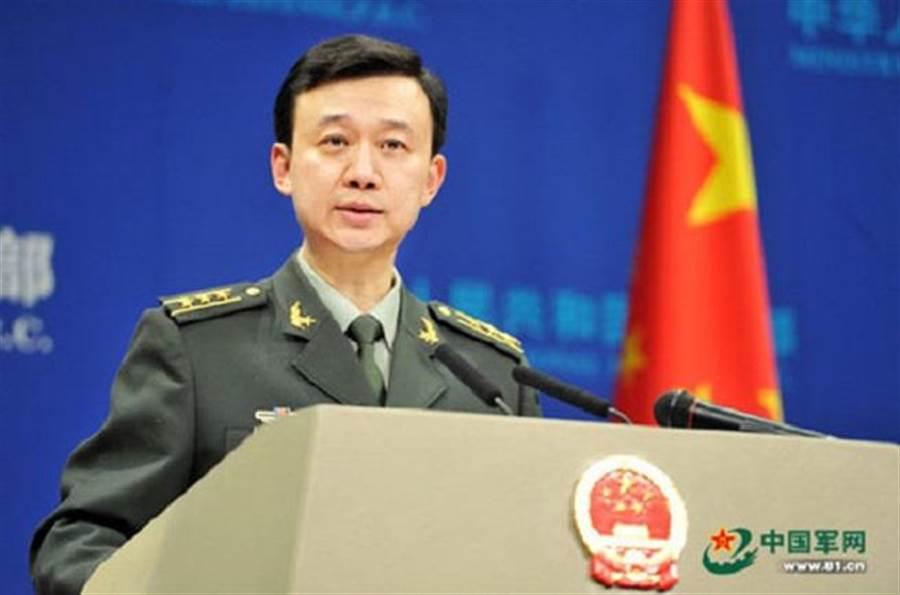 大陸國防部發言人吳謙。(中國軍網)