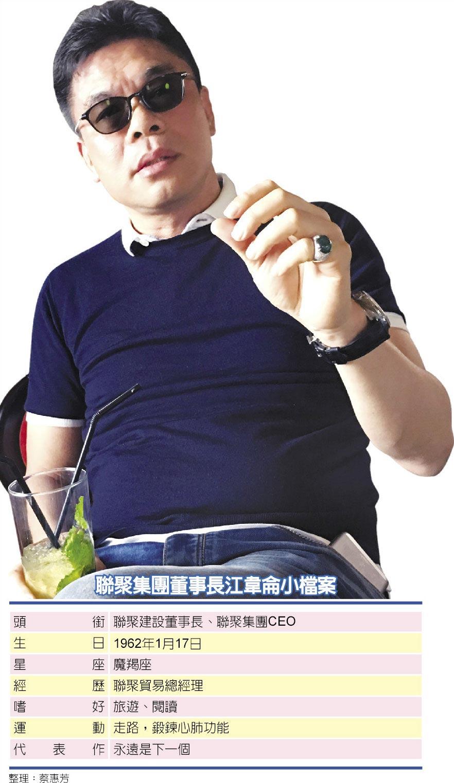 聯聚集團董事長江韋侖小檔案