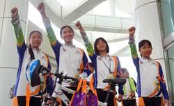 大手牽小手單車環台 小騎士造訪台南