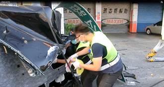 彰化埔心自小客撞燈桿身首異處 駕駛重傷