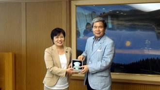 立委劉世芳率前鎮國中足球隊 拜訪日本熊本縣姊妹市