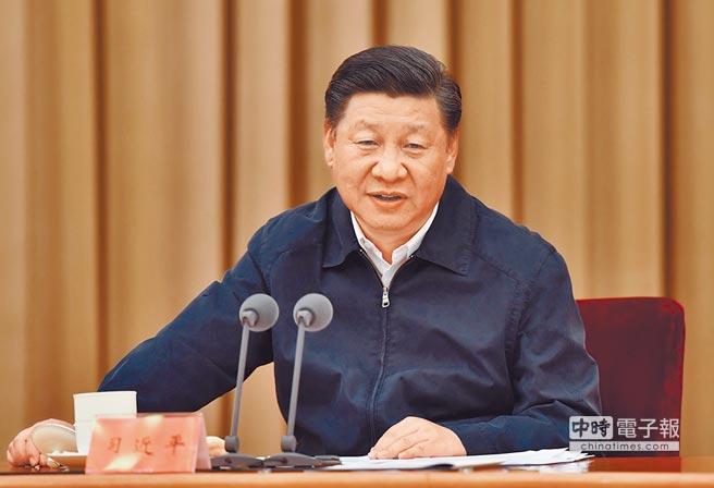 中國國家主席習近平。 (新華社)