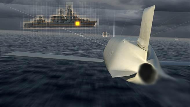 美國海軍購買最新式的長程次音速反艦飛彈,將會在未來取代使用40年的魚叉飛彈。(圖/洛馬公司)