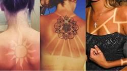 國外IG現正「熱印」!曬出美麗圖騰,8個令人驚豔的曬痕紋身