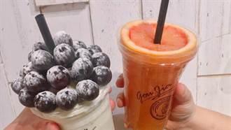 芒果直接做成花束給你!全台浮誇系果汁TOP4,可以喝得到整顆水果