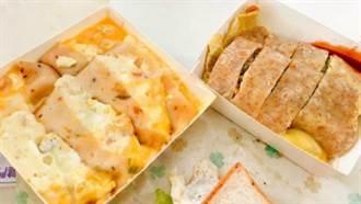 台南最新排隊美食!滿料+牽絲的「薯泥起司蛋餅」,吃一份飽足感100%