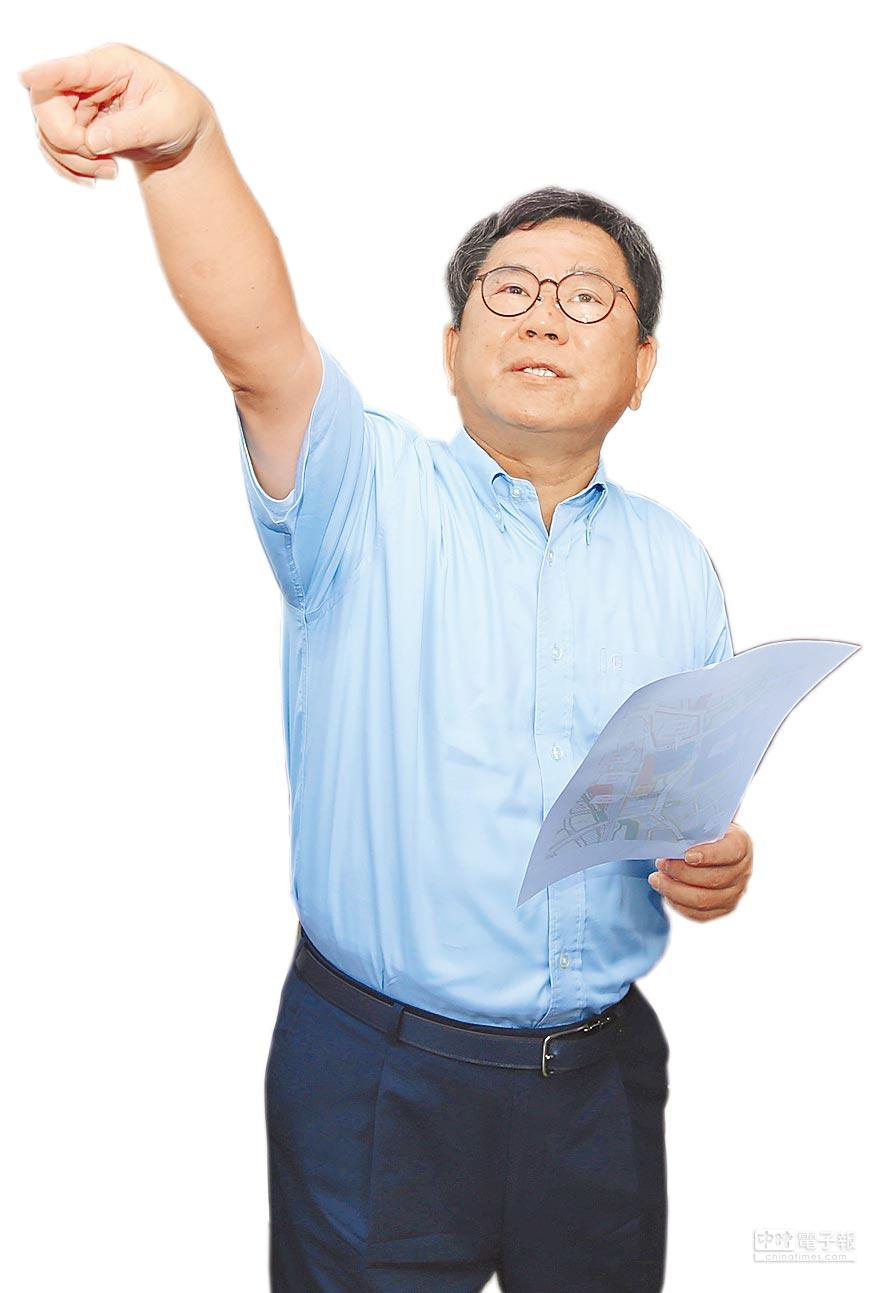 立委陳明文和縣長張花冠原是政治盟友,為下屆縣長選舉支持人選不同,漸行漸遠。(本報資料照片)