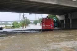 新市長泰教養院外積淹水 評估後不撤離