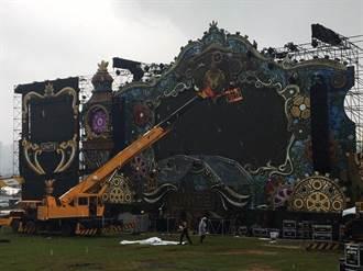 尼莎颱風不留情  UNITE With Tomorrowland無緣登台