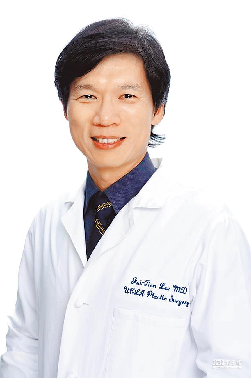 曼都整形外科院長李瑞田,馬偕醫院台東分院整形外科主任、台北馬偕醫院整形外科主治醫師、台北馬偕醫院整形外科總醫師。(曼都整形外科提供)