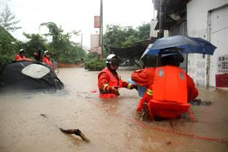 海棠颱風暴雨橫掃華北東北 5省嚴陣以待