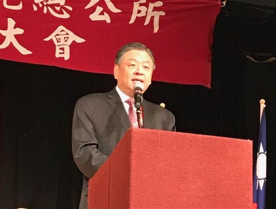 呂元榮強調僑委會「只做服務、不搞政治」。(圖:陳子巖攝)