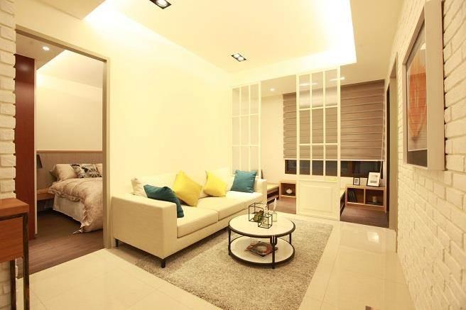 23-25坪規劃2房,適合小家庭與新婚夫妻。(圖/廖一德攝)