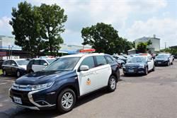 屏東縣府新購警用車輛 強化警局執勤裝備