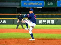 U12》楊盛為將先發抗韓 中華隊採取指定打擊